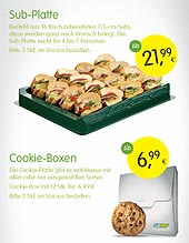 Catering von SUBWAY in Hannover